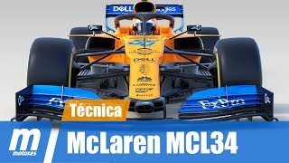 Análisis técnico | McLaren MCL34 | Fórmula 1 2019