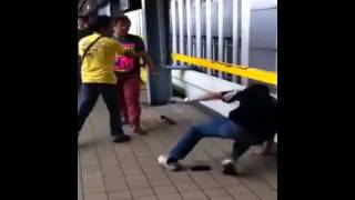 Beast Mode sa LRT Carriedo Station