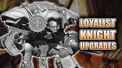 Sisters & Marine Imperial Knight Upgrade Sets: Legio Models Unboxing