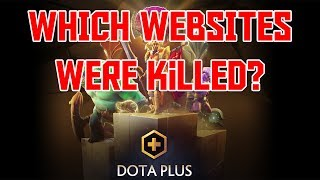 Which websites has Dota Plus killed?