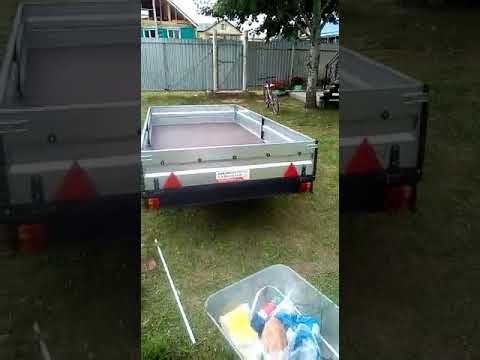 видео отзыв прицеп Титан 3015-03