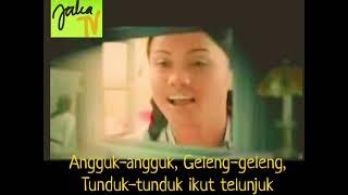ahli fiqir-angguk angguk geleng geleng original clip karaoke