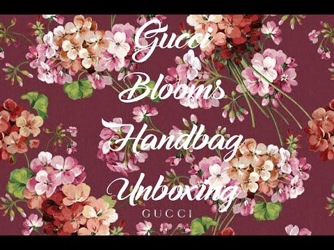Gucci Luxury Birthday Unboxing - Gucci Blooms Handbag