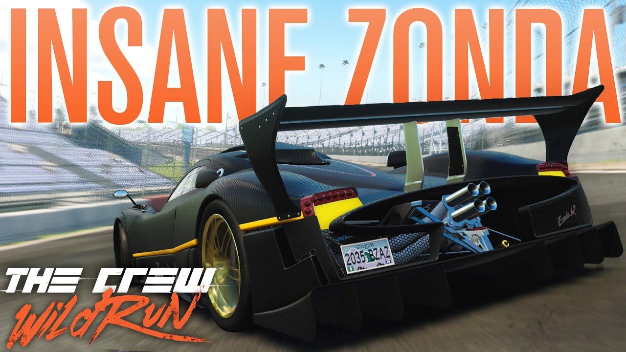 INSANE CIRCUIT ZONDA R BUILD! | The Crew Wild Run Gameplay