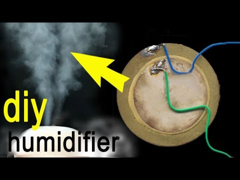 how to make an ultrasonic humidifier,circuit diagram  YouTube