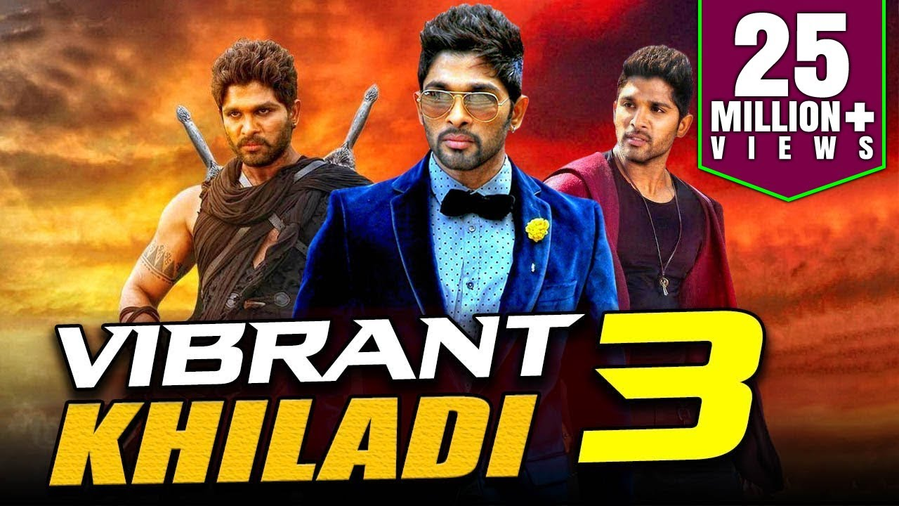 Download Vibrant Khiladi 3 2019 Telugu Hindi Dubbed Full Movie | Allu Arjun, Anushka Shetty, Manoj Manchu