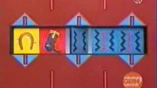 Sesame Street - Horshoe And Boot Pattern