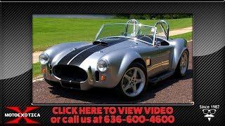 1965 AC Cobra Factory Five Mk. IV Replica (SOLD)