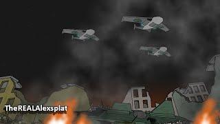 Pivot Alien Invasion Fight War Animation Series 2 (Part 21 + 22)