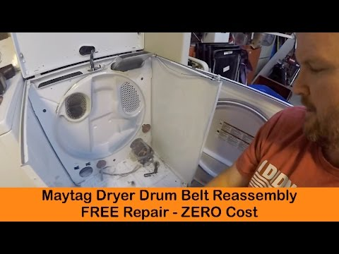 Kenmore Whirlpool Dryer Repair Heats Properly Drum