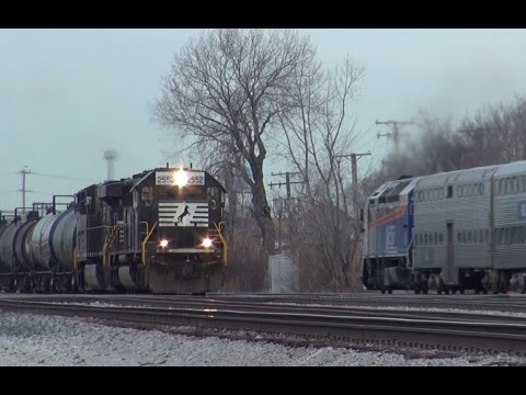 Chicago Terminal Series: CP and Metra Action at Bensenville 12/28/11