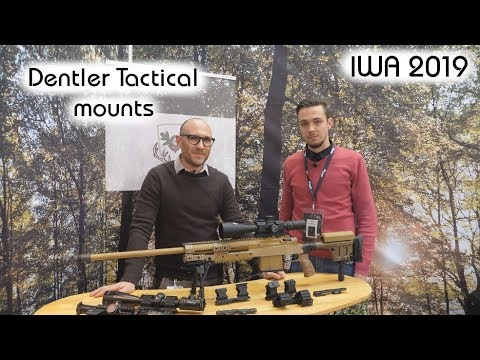 Dentler tactical mounts | Optics Trade IWA 2019 report