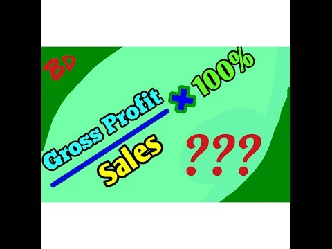 Gross Profit Margin Calculation - Bangla