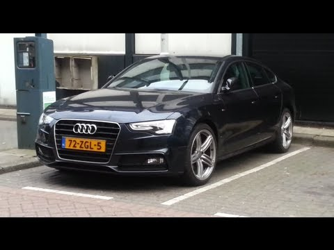 audi a5 sportback 2014 s line in depth review exterior youtube. Black Bedroom Furniture Sets. Home Design Ideas