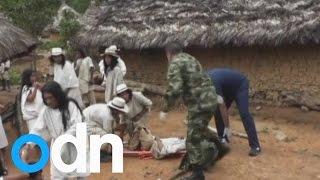 Lightning strike kills 11 Colombian tribe members in small village