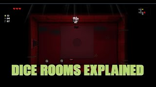 Binding of Isaac Rebirth: All DICE ROOMS EXPLAINED
