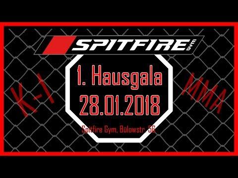 1. Hausgala im Spitfire Gym Berlin, 27.01.2018