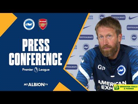 Graham Potter Arsenal Press Conference
