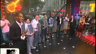 Kelly Brook Interview - MTV TRL W/Rob Schneider, Rachel Stevens And Dave Berry