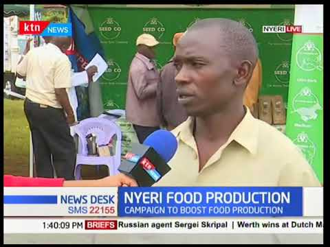 Nyeri Food Production: Nyeri County hosts Farmers Field Day