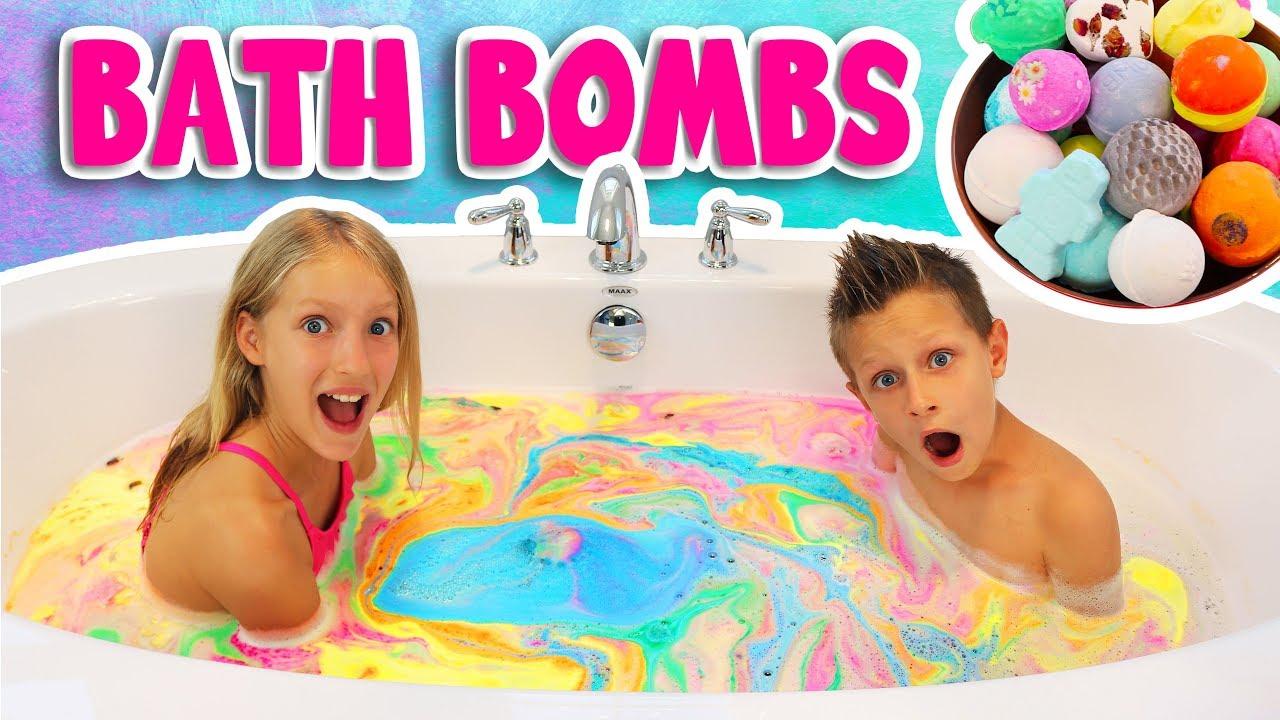 Download BATH BOMB CHALLENGE!!!!