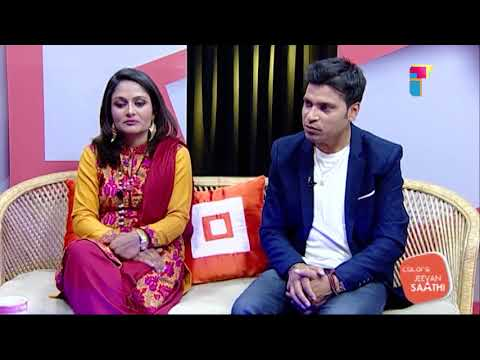 Singer Rajan Raj Siwakoti and his wife Kabita Mainali | Jeevan Saathi with Malvika Subba