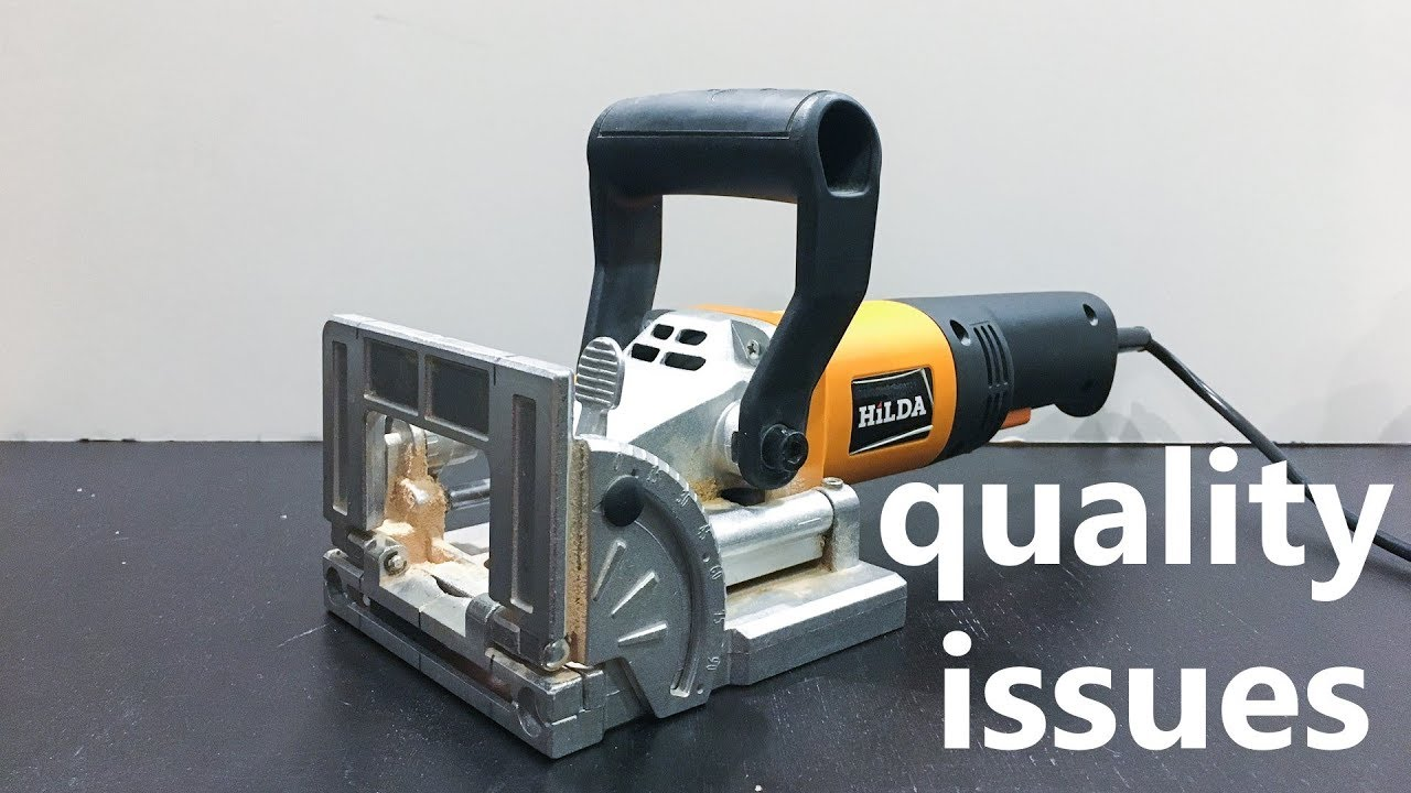 HILDA 760W biscuit jointer quality issues