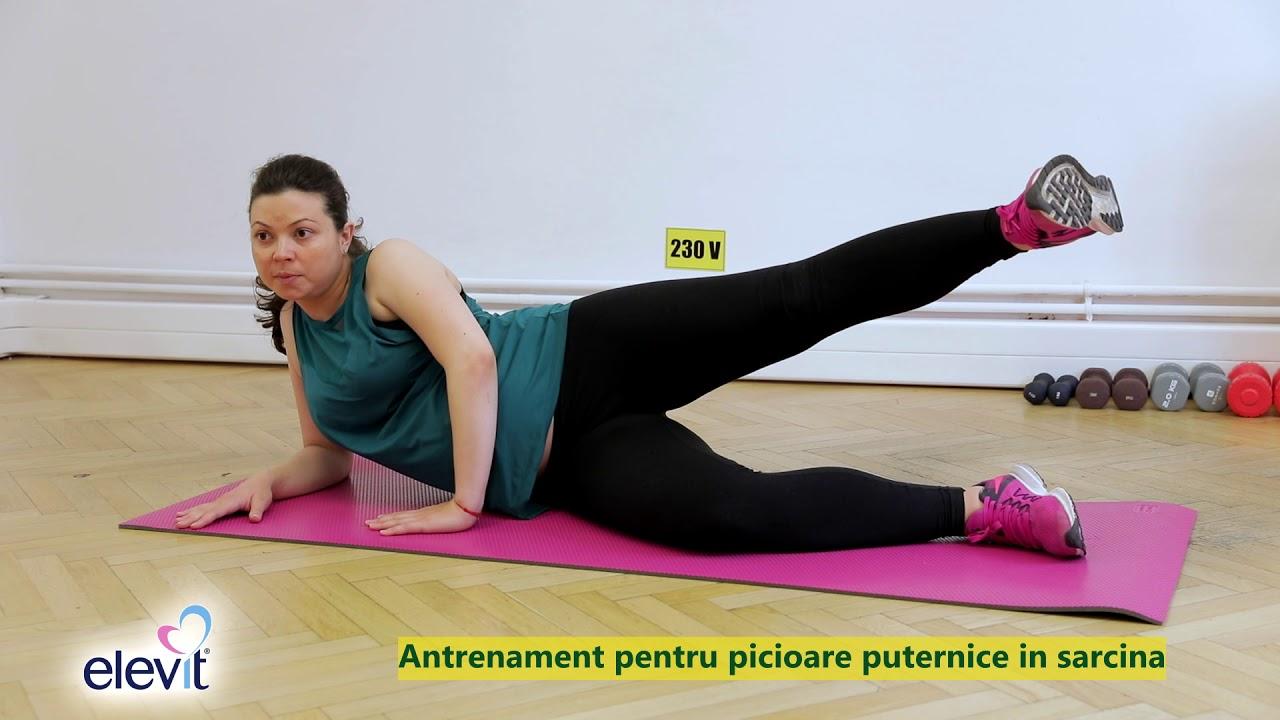 exerciții de picior însărcinate)