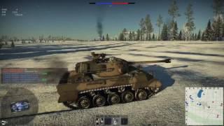 War Thunder (Part 1 Light tank tutorial M18)