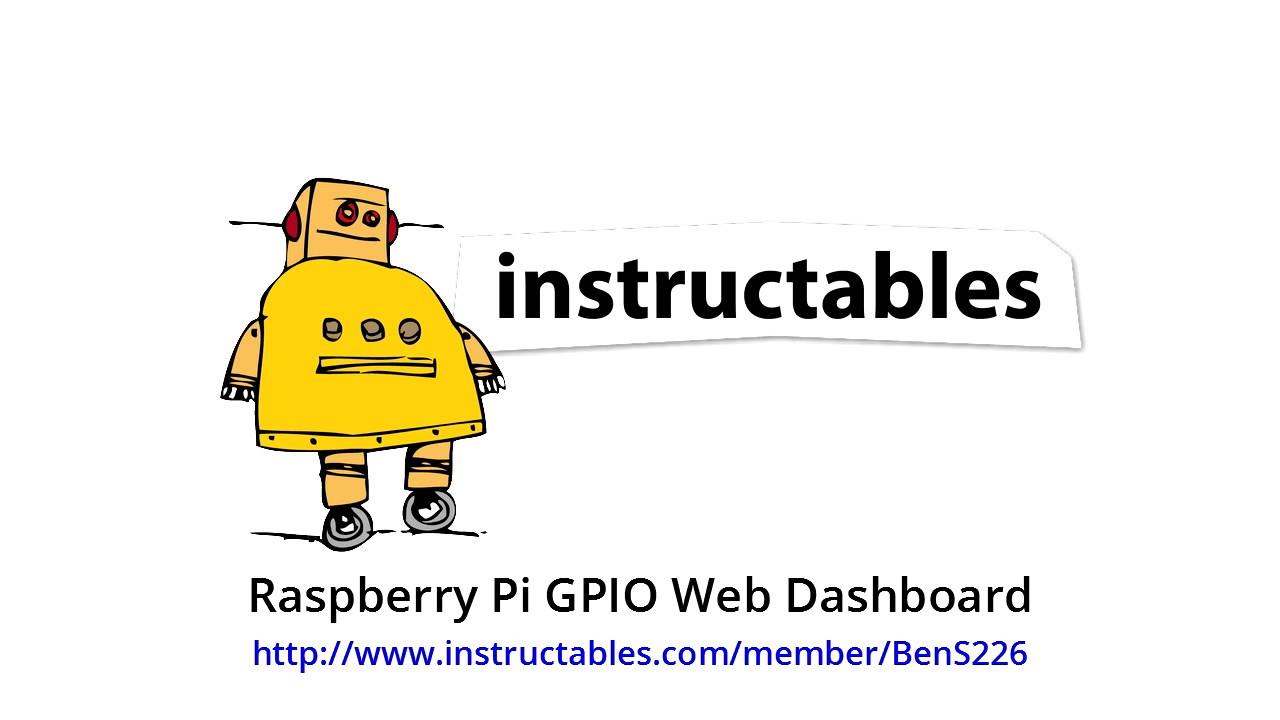 Raspberry Pi GPIO Web Dashboard: 7 Steps