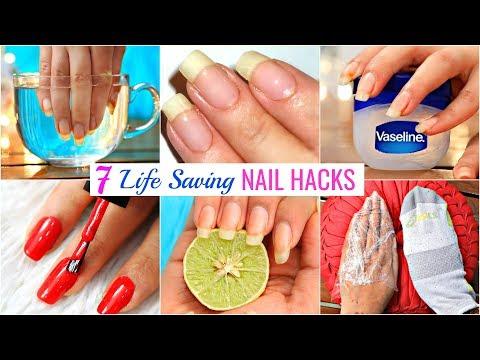 7 Life HACKS To GROW NAILS Fast & Strong | #Beauty #DIY #Remedy #Anaysa