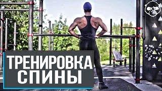 Широкая спина воркаут тренировками на улице – советы от чемпиона по бодибилдингу