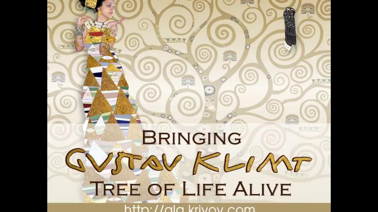 project ad 2 bringing gustav klimt tree of life alive by ala krivov