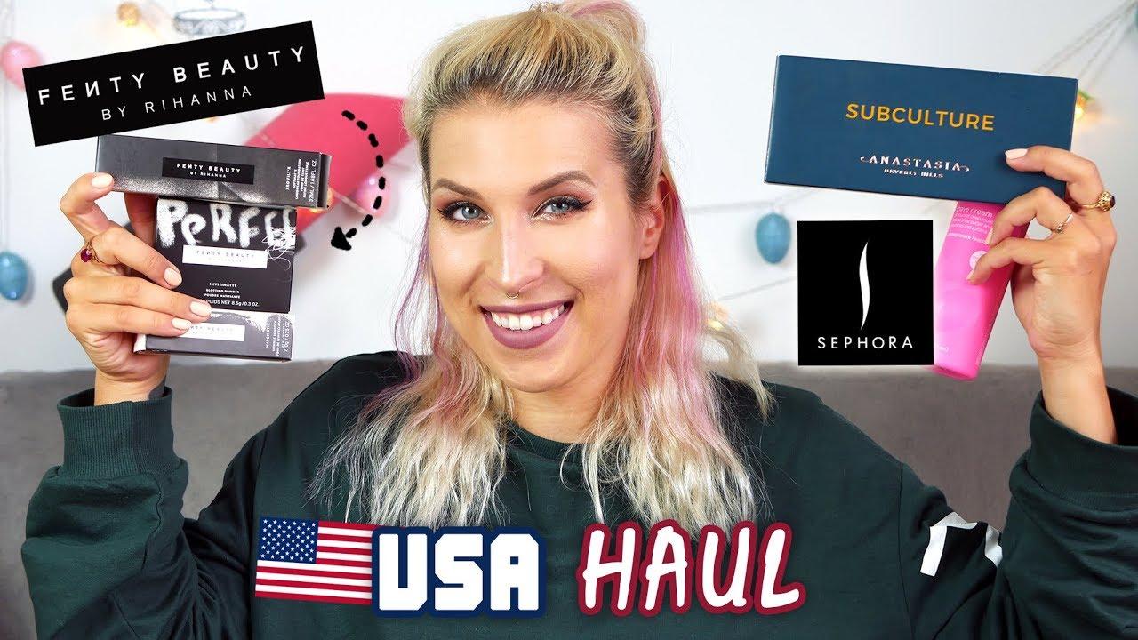 ♦ Kosmetyki, które warto kupić w USA – Fenty Beauty, Anastasia, Olay, EOS ♦ Agnieszka Grzelak Beauty