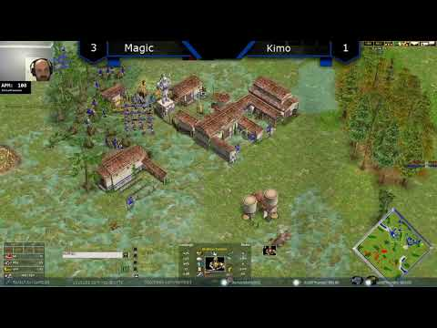 Magic Vs Kimo - Age Of Mythology: The Titans (Game 5)