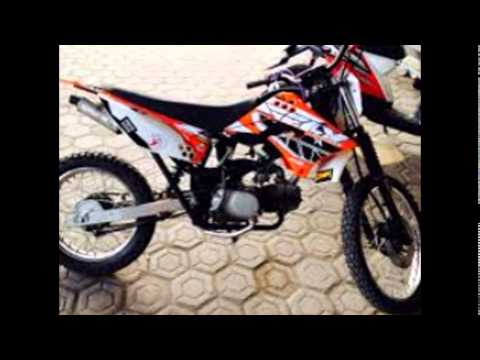 modifikasi motor trail klx terkeren