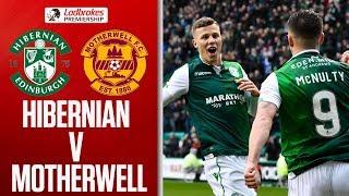 Hibernian 2-0 Motherwell   McNulty Scores 1st as Hibs Win Comfortably   Ladbrokes Premiership