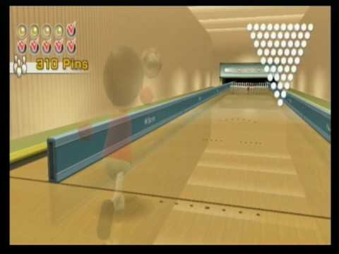 how to get a strike in bowling wii