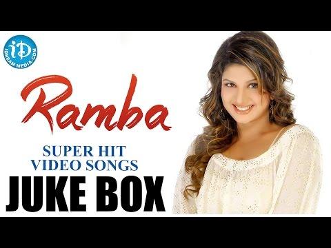 Rambha Super Hit Songs    Video Songs Jukebox