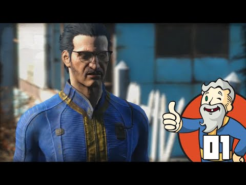 """GENNY THE NERDY ASIAN JERK!!!"" Fallout 4 Part 1 - 1080p HD PC Gameplay Walkthrough"