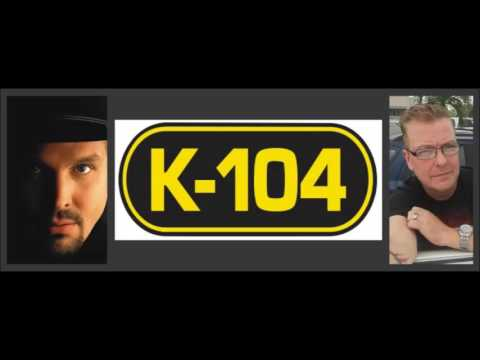 K-104's John Reynolds Interviews Garth Brooks