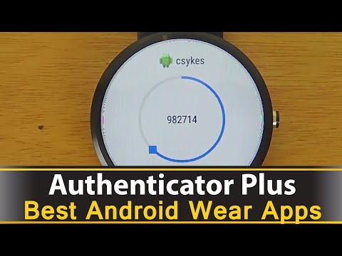 Authenticator Plus - Best Android Wear Apps Series