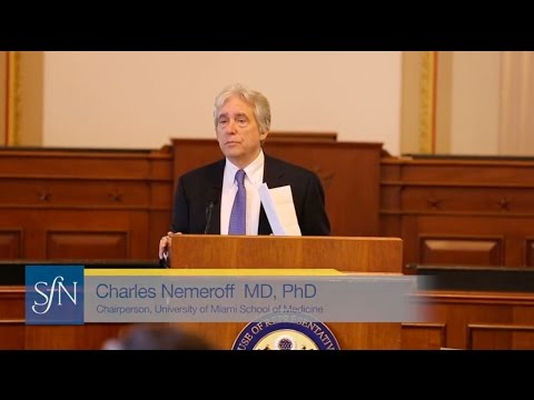 Suicide and Depression - Charlie Nemeroff - Congressional Neuroscience Caucus