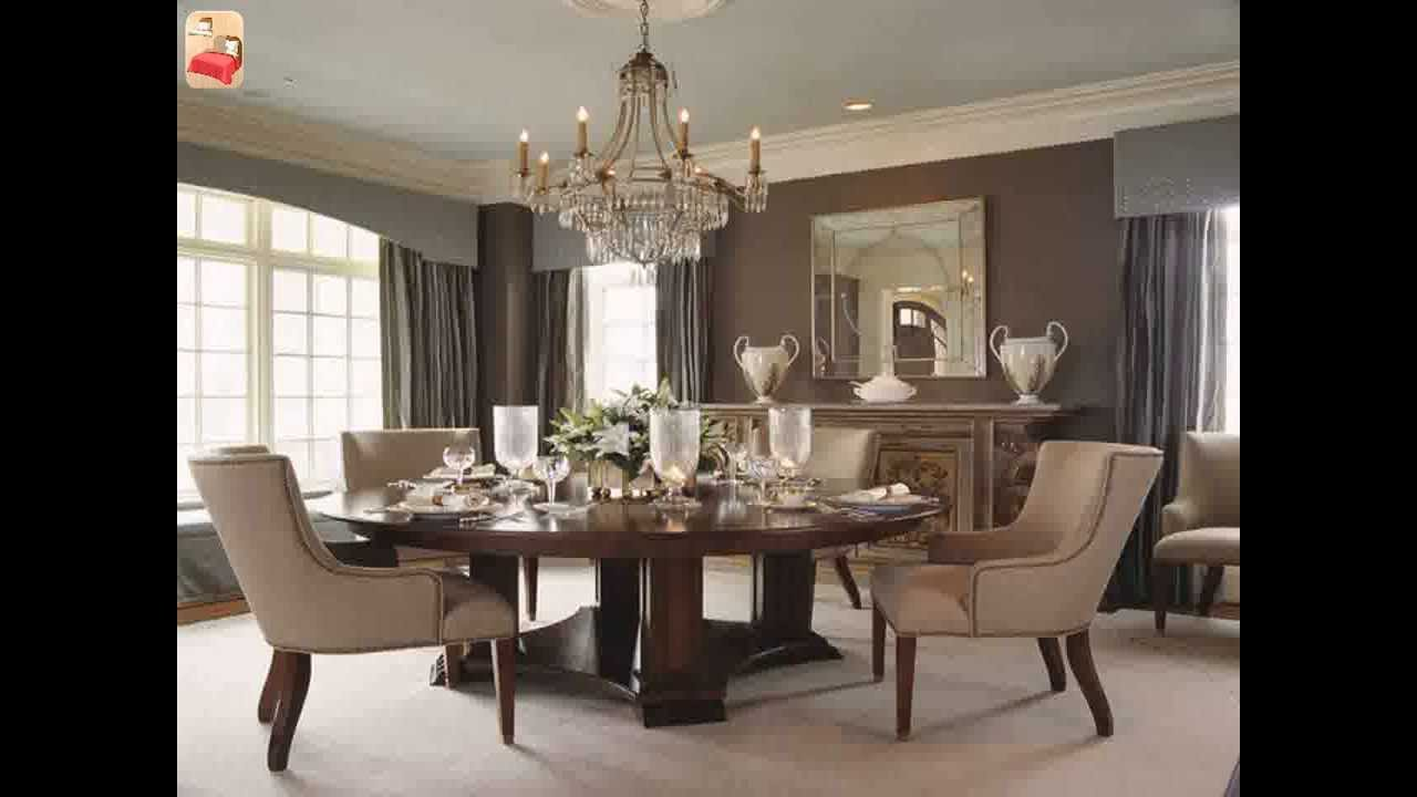 Dining room buffet decorating ideas youtube for Large dining room decorating ideas