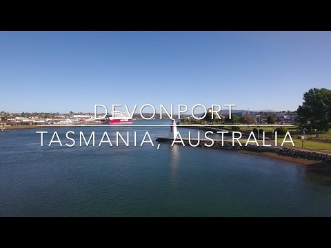 Our World by Drone in 4K - Devonport, Tasmania, Australia
