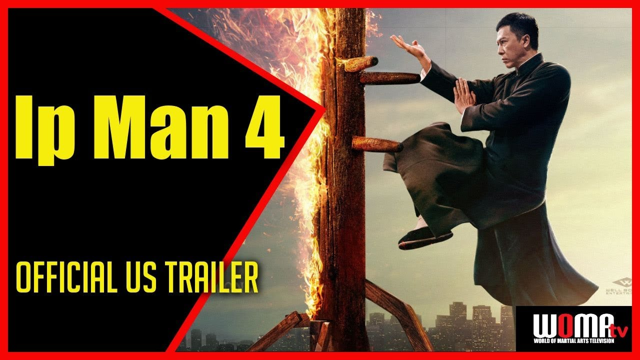 Ip Man 4 2019 Official Us Trailer Donnie Yen Scott Adkins Danny Chan As Bruce Lee