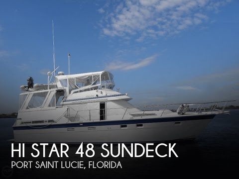 [UNAVAILABLE] Used 1987 Hi Star 48 Sundeck in Port Saint Lucie, Florida