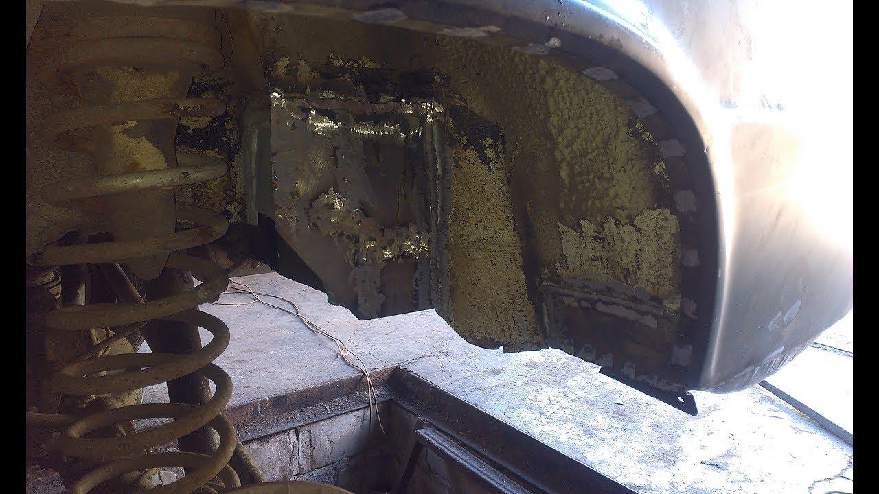 ВАЗ 2106 ремонт левого подкрыльника