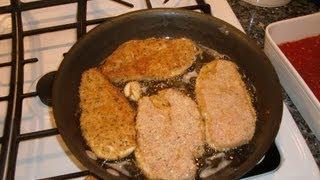 Recipe for Chicken Parmesan - Chef Pasquale