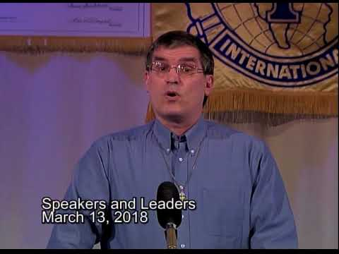 Speakers And Leaders 2018 March